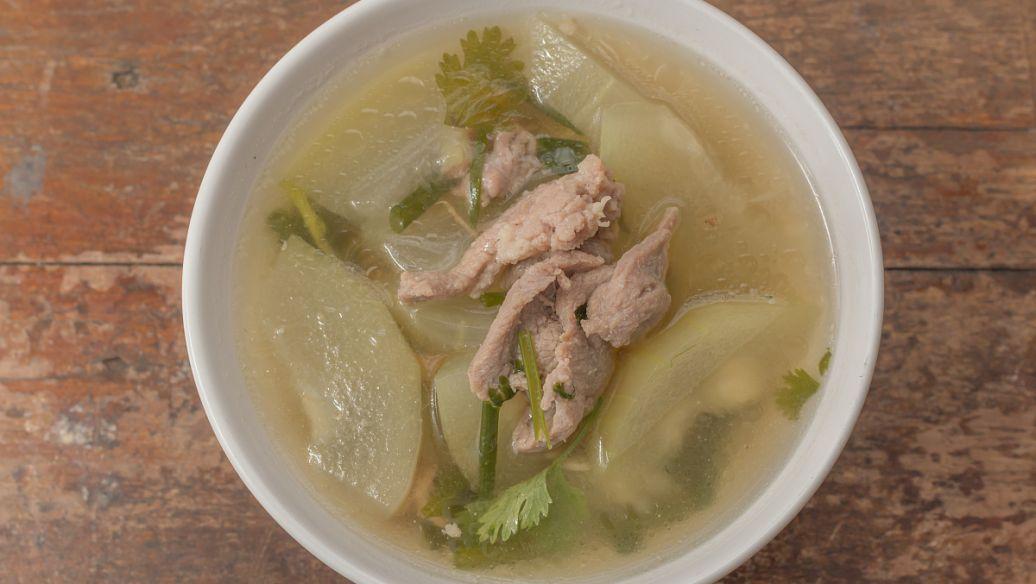 冬瓜排毒瘦身汤