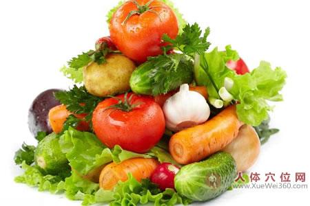 多吃含水量多的瓜类蔬菜