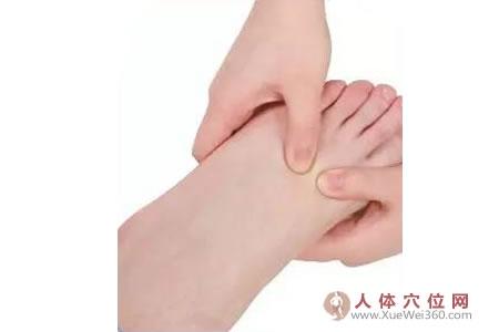 脚底穴位图(足内侧反射区)--胸(ru房)按摩
