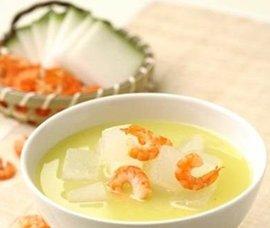 冬瓜虾仁瘦身汤