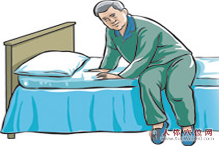 起床前做做穴位按摩,身体更健康!