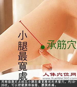 承筋穴的作用