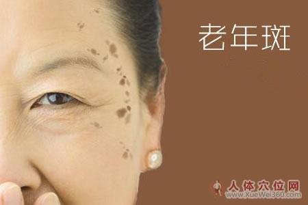 拍打经络有助消除老年斑