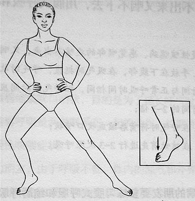 治疗老寒腿多练下蹲