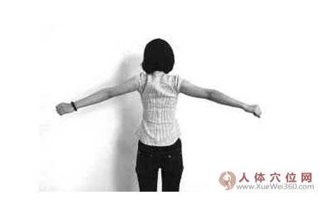 像扇子一样开合:肩背疼痛明显减轻
