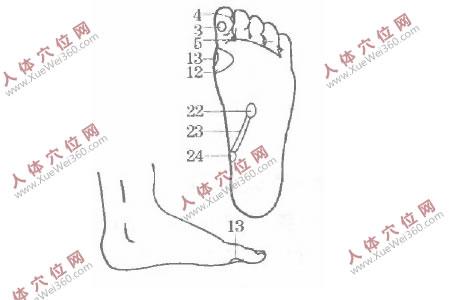 手脚穴位按摩法对治疗神经衰弱有效
