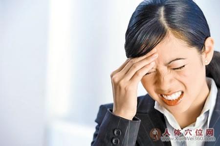 头痛的按摩疗法