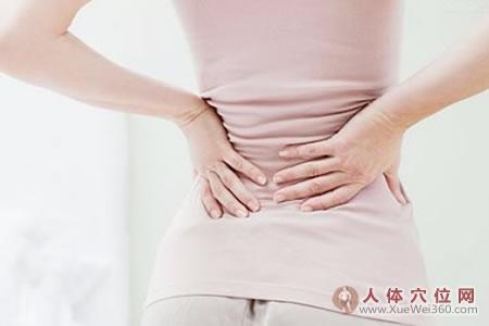 生理期腰酸痛,热敷命门穴,按摩三阴交穴可缓解