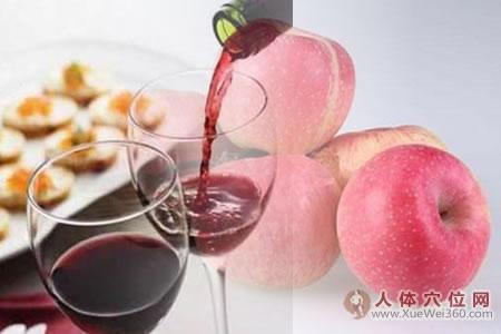 红酒炖苹果治痛经