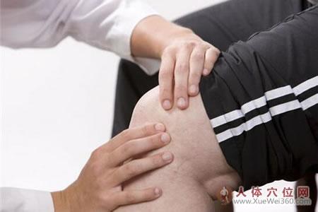 穴位治疗膝关节疼痛