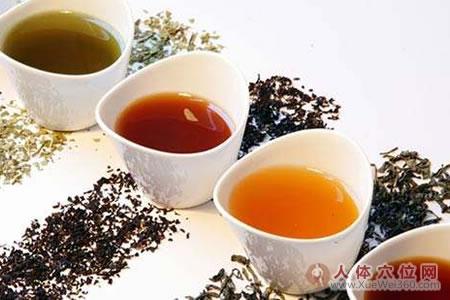 古人常用的几种茶疗养生方